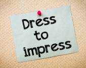 Dress to impress — Stock Photo