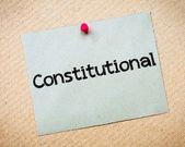 Constitutional — Stock Photo
