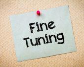 Fine Tuning — Stock Photo