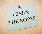 Learn The Ropes — Stock Photo