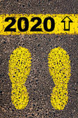 Year 2020  is coming message. Conceptual image — ストック写真