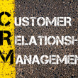 Acronym CRM - Customer Relationship Management — Stock Photo #70465665