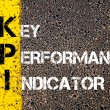 Acronym KPI - Key Performance Indicator — Stock Photo #70465767
