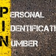 Acronym PIN - Personal Identification Number — Stock Photo #70465789