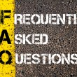 Acronym FAQ - Frequently Asked Questions — Stock Photo #70465797