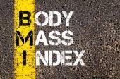Acronym BMI - Body Mass Index — Stock Photo