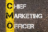 Business Acronym CMO as Chief Marketing Officer — Stock Photo
