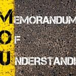 Business Acronym MOU - Memorandum Of Understanding — Stock Photo #70646313