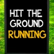 HIT THE GROUND RUNNING — Stock Photo #71358155