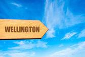 Przeznaczenia Wellington, Nowa Zelandia — Zdjęcie stockowe