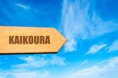 Destination KAIKOURA, NEW ZEALAND — Stock Photo