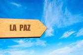 Destination LA PAZ, BOLIVIA — Stock Photo