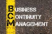 Business Acronym BCM — Stock Photo