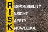 Business Acronym RISK — Zdjęcie stockowe