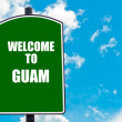 Welcome to GUAM — Stock Photo #74033631