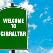 Welcome to GIBRALTAR — Stock Photo #74033161