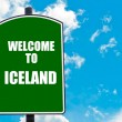 Welcome to ICELAND — Stock Photo #74033387