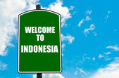 Welcome to INDONESIA — Stock Photo