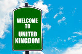 Welcome to UNITED KINGDOM — Stock Photo