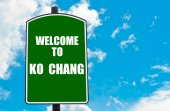 Welcome to KO CHANG — Stock Photo