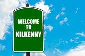 Welcome to KILKENNY — Stock Photo
