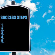SUCCESS STEPS — Stock Photo #74089987