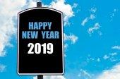 Felice nuovo anno 2019 — Foto Stock