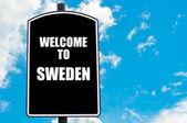 Welkom in Zweden — Stockfoto
