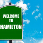 Welcome to HAMILTON — Stock Photo #74283487