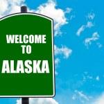 Welcome to ALASKA — Stock Photo #74283527
