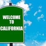 Welcome to CALIFORNIA — Stock Photo #74283617