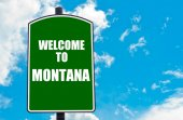 Welcome to MONTANA — Stock fotografie