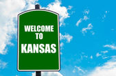 Welcome to KANSAS — Stock Photo
