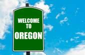 ¡ Bienvenido a Oregon — Foto de Stock