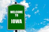 Welcome to IOWA — Stock Photo