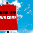 New Life Welcome — Stock Photo #74355355