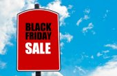 Black friday verkauf — Stockfoto