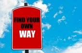 Find Your Own Way — Stock Photo