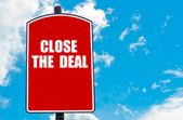 Close The Deal — Stock Photo