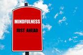 Mindfulness Just Ahead — Stock Photo