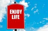 Geniet van het leven — Stockfoto