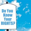 Do You Know Your Rights? — Stock Photo #74360887