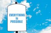 Everything is Possible — Stock Photo