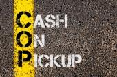 Business Acronym COP as Cash On Pickup — Stock fotografie