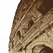 Rome Coliseum — Stock Vector