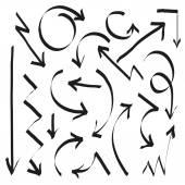 Conjunto de flechas — Vector de stock