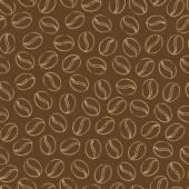 Coffee background. — Stock Vector