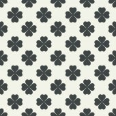 Seamless clover background — Stock Vector