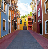 Spanish Street Scene — Stock Photo