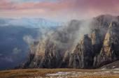 Mountains burn — Stock Photo